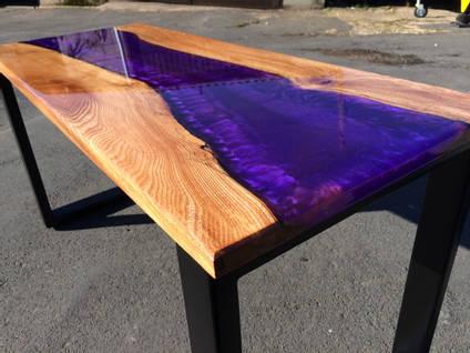 Ashleigh Whilock Purple River Table