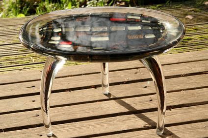 Asteroid Table by Benc Construct