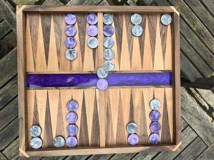 Purple-Backgammon-Board