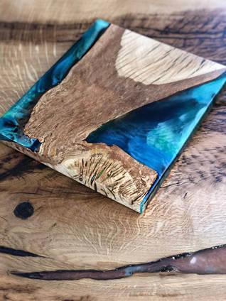 Blue Chopping Board