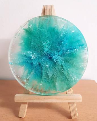 Blue Petri Art