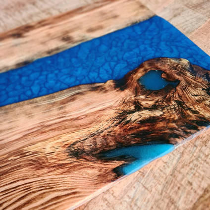 Blue-and-Turquoise-Serving-Board-by-Isahtins-Art