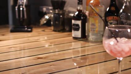 Churnet Hall Bar Gin Glass shot