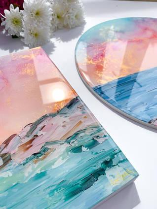 Emily-McSevich-Art-Resin-Coated-Paintings