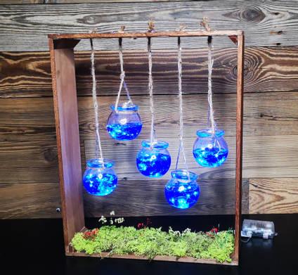 Hanging-Resin-fish-bowls-lamp-by-MB-resin-art