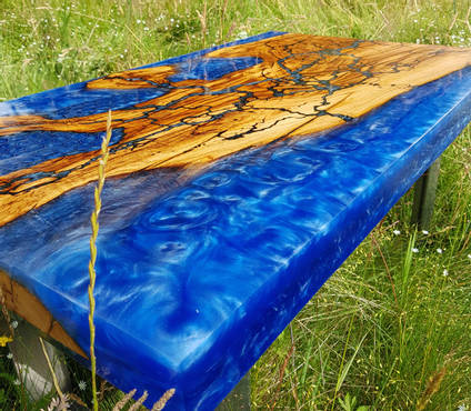Honeycomb River Table