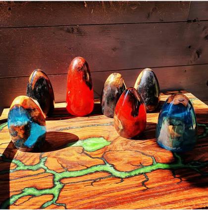Lightning-Wood-Designs-Wood-Turned-Eggs
