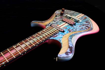 Marble Micarta Guitar