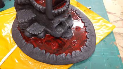 Mel Bose Red Skull