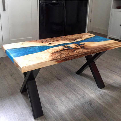 Metallic-Blue-River-Table-by-Chris-Creates