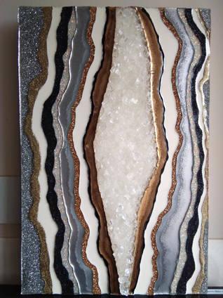 Metallic Geode