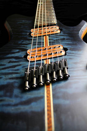 Micarta Guitar Close Up