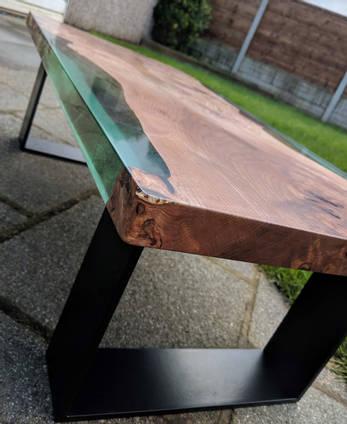 Michael Easton Island Table Waney Mill Wood Co