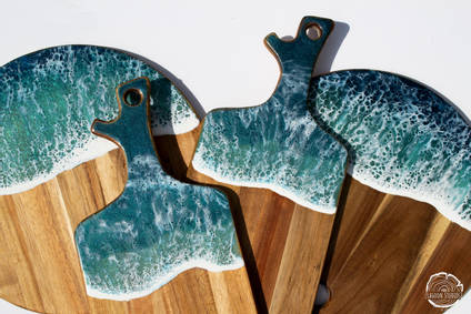 Ocean-collection-resin-chopping-boards-by-Lagoon-Studios