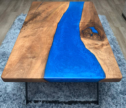 Overhead-view-blue-river-table-by-The-Epoxy-Studio