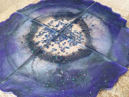 Purple-Coaster-Set-by-Isahtins-Art