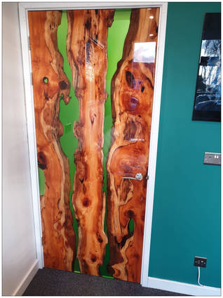 Resin Rivers Door