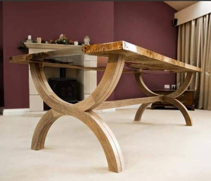 Riven Oak River Table