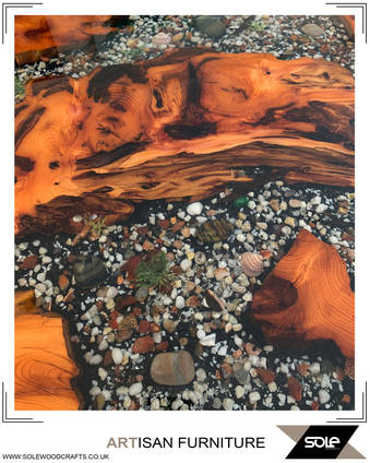 Seashell Table Close Up