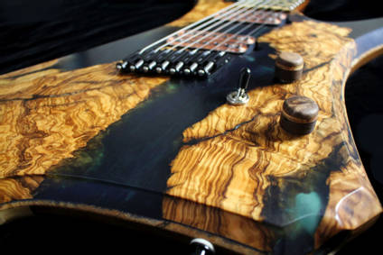 Stone Wolf River Guitar