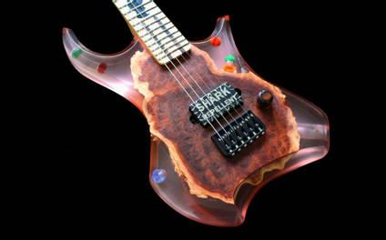 Stone Wolf lego guitar