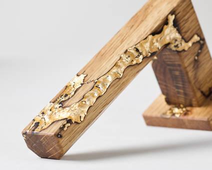 Studio-number-10-gold-wood-and-resin-door-handle