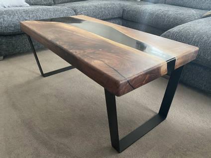 The Epoxy Studio Resin River Table