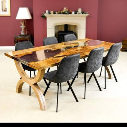 The Riven Oak Table