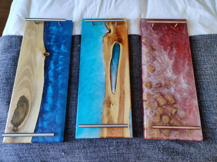 Trio of Serving Boards