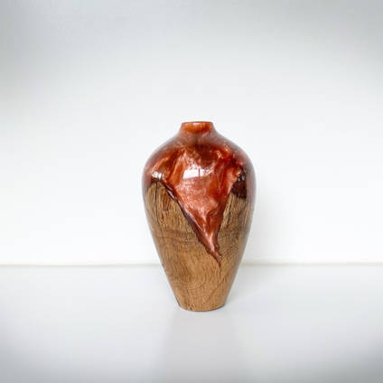 Wood-and-Resin-Stonesmith-Designs-Vase