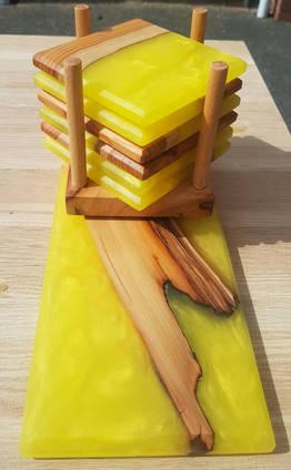 Yellow Coaster Stack