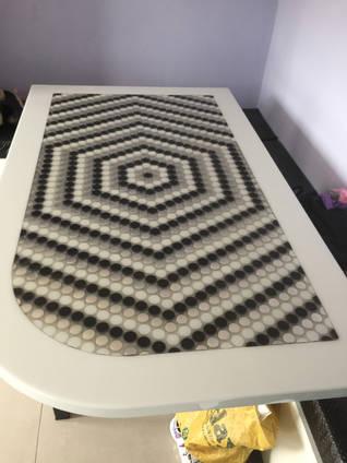 David Leach Mosaic Table