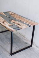 Apple Wood Resin Table Thumbnail