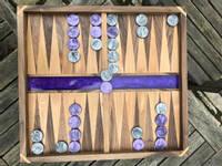 Purple-Backgammon-Board Thumbnail