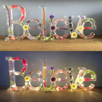 Believe Resin Sign Thumbnail