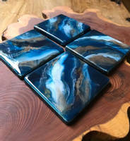 Blue-and-Turquoise-Coasters-by-Loonar-Designs Thumbnail