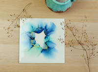 Blues-alcohol-ink-painting-by-handcrafted-by-Zsuzsi Thumbnail