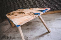 Yew and Blue Resin Table Thumbnail