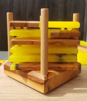 Coaster Stack Yellow Thumbnail