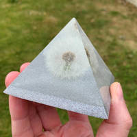 Dandelion and Glitter Pyramid Thumbnail