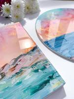 Emily-McSevich-Art-Resin-Coated-Paintings Thumbnail