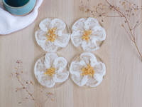 Flower-Coaster-Set-by-Handcrafted-by-Zsuzsi Thumbnail