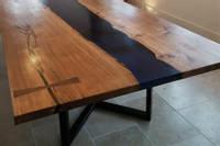 Large Resin River Dining Table Thumbnail