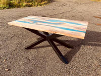 Highland-Haus-Epoxy-Blue-Rivers-Table-side-view Thumbnail