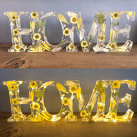 Home Yellow Flower Sign Thumbnail