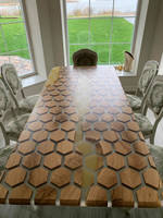 Honey and Honeycomb Dining Table Thumbnail
