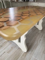 Honey and Honeycomb Resin Table Thumbnail