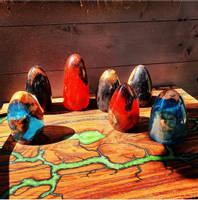 Lightning-Wood-Designs-Wood-Turned-Eggs Thumbnail