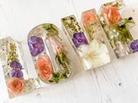 Floral Resin Letter Castings Thumbnail