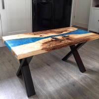 Metallic-Blue-River-Table-by-Chris-Creates Thumbnail